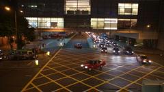 Hong Kong Nights - Taxi Edition Stock Footage