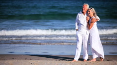 Seniors Retirement Leisure - stock footage