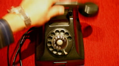 No dial tone HD 1080p Stock Footage
