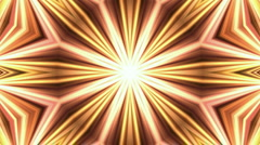Golden ray lights disco neon light tech energy flower texture sunlight optics. Stock Footage