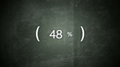 Downloading Percentage Over Textured Background HD Stock Footage