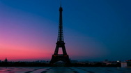 Stock Video Footage of Paris Wakes Up