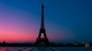 Paris Wakes Up Stock Footage