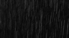 Real Rain Loop (Pelting) - stock footage