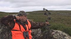 Archer Hunter - stock footage