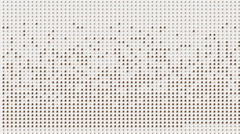 Electronic dots particle mosaics puzzle tech web enery background. Stock Footage