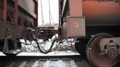 Train wagons Stock Footage