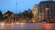 Gaudi's Casa Batllo, Barcelona, Spain Stock Footage