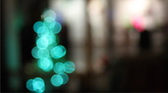 Electric christmas tree Stock Footage