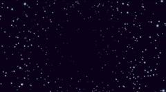 Star field Stock Footage