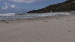Isolated beach Stock Footage