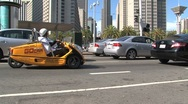 Stock Video Footage of Go car Downtown San Francisco