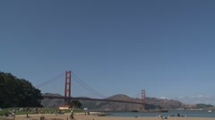 The Golden Gate Bridge Stock Footage