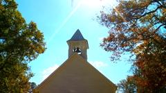 Historic church steeple Stock Footage