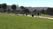 Stock Video Footage of Park downtown San Francisco