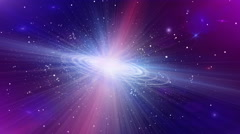 Spiral Galaxy Stock Footage