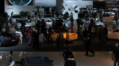 LA Auto Show 2010 Stock Footage