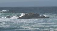 Stock Video Footage of Wave Westcoast, California, United States