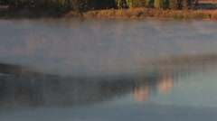 Fog on Water Stock Footage