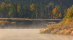 Fog on Water 02 Stock Footage