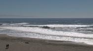 Stock Video Footage of Beach Westcoast, California, United States