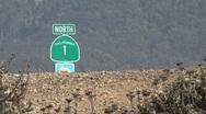 Stock Video Footage of California route 1 Westcoast, California, United States