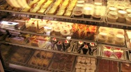 Stock Video Footage of Pastries at a pastry shop.