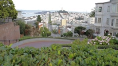 Lombard - San Francisco - stock footage