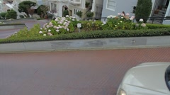 San Francisco Lombard St - stock footage