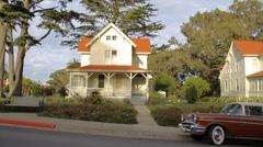 Fifties Neighborhood - stock footage