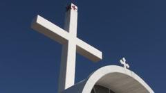 Orthodox monastery. Cyprus. Stock Footage