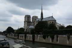 Notre Dame 01 NTSC Stock Footage