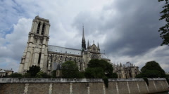 Notre Dame 04 HD Stock Footage
