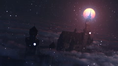 Christmas Castle 1080P - stock footage