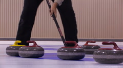 CURLING 6 - stock footage