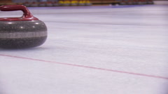 CURLING 8 Stock Footage