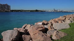 Government Cut, Port of Miami Stock Footage