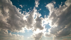 Clean cloudlapse - stock footage