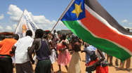 Stock Video Footage of Celebration Dance South Sudan; Africa