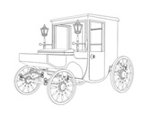 Draw Carriage MMsmall Stock Footage