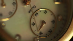 Ticking Watch Speed Up Loop - stock footage