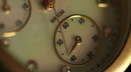 Stock Video Footage of Ticking Watch Speed Up Loop