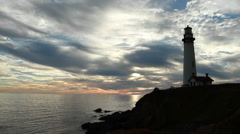 Lighthouse - stock footage