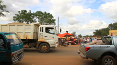 Africa Traffic Stock Footage