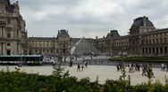Stock Video Footage of Louvre 01 HD