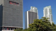 Stock Video Footage of Downtown Miami