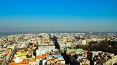 Belgrade timelaps Stock Footage