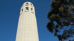 Coit Tower Stock Footage