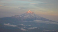 Stock Video Footage of Mountain Aerial From Airplane