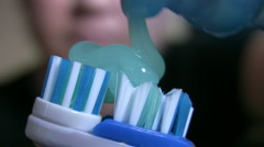 Dental Hygiene - stock footage